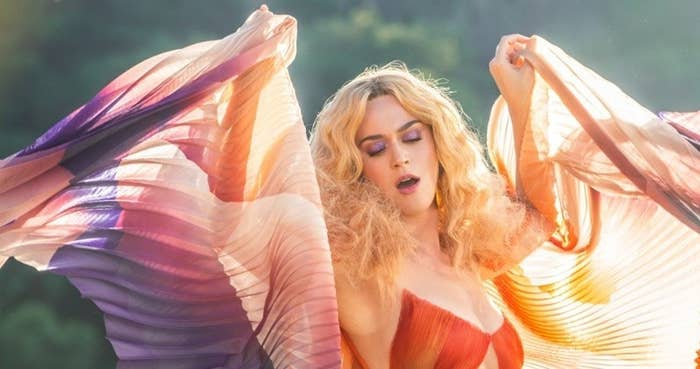 """A still from """"Never Really Over"""""""