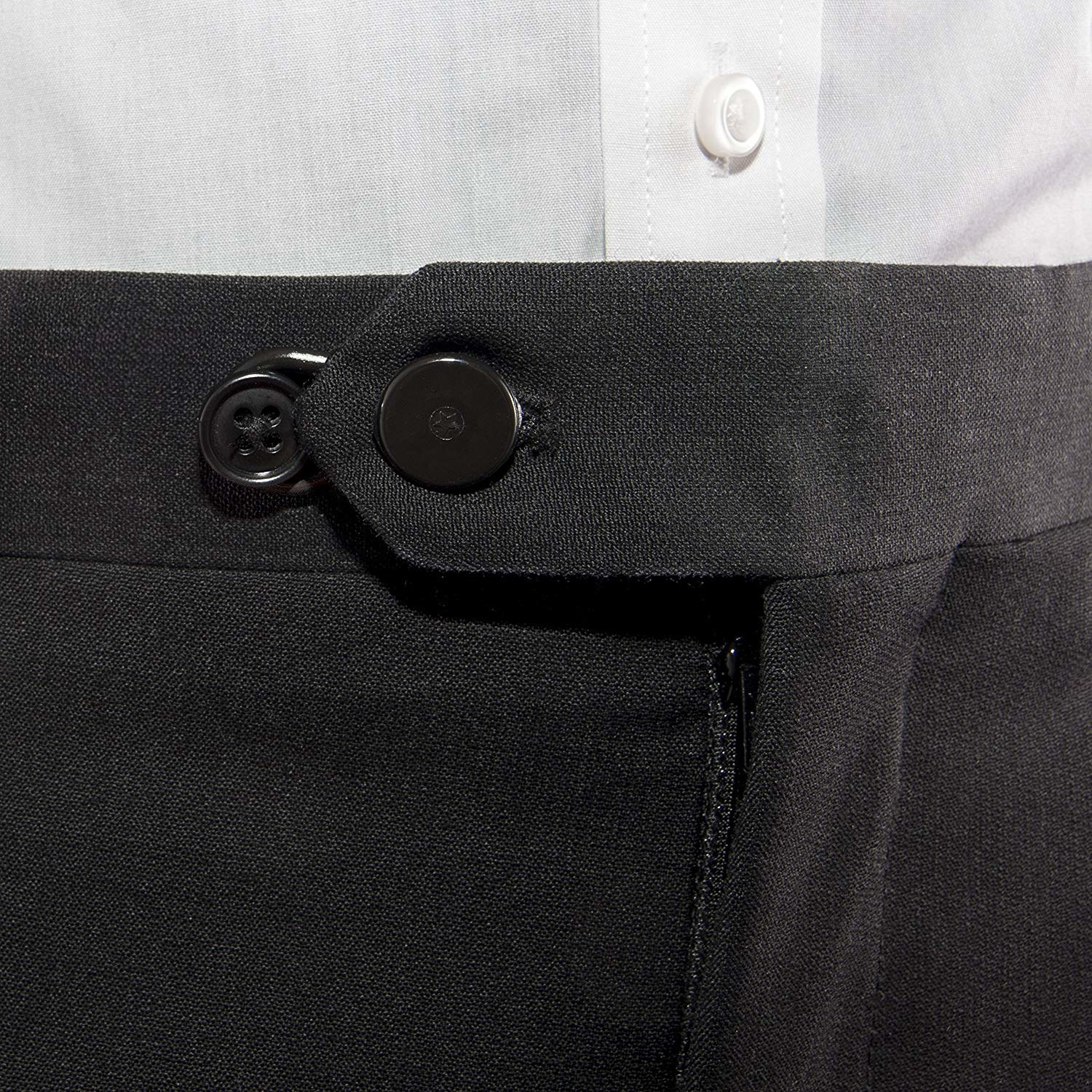 The button extender in black
