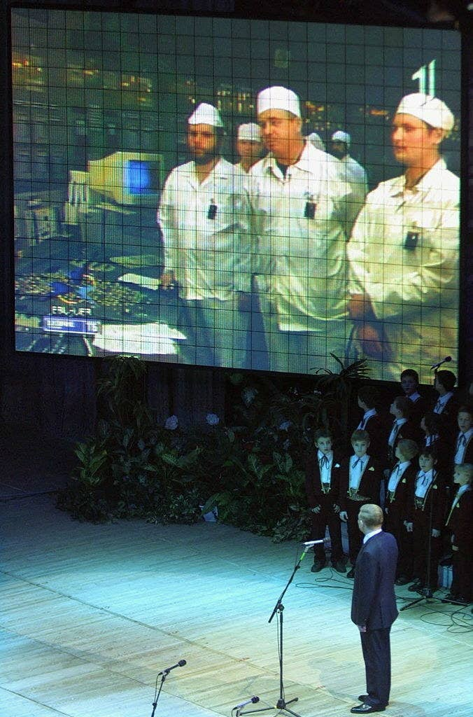 This image is from the closing ceremony.