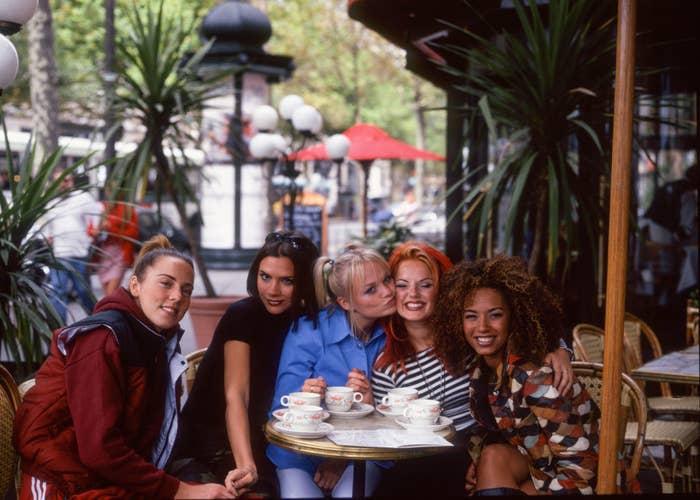 In Paris, 1996.