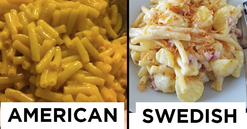 Here's How Typical American Foods Compare In Different Countries