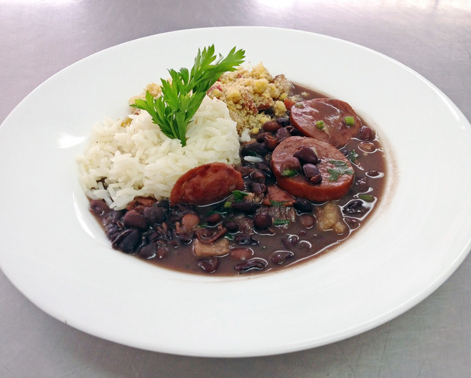 """Feijoada — basically black beans with a shit ton of meat.""—Impertnents"