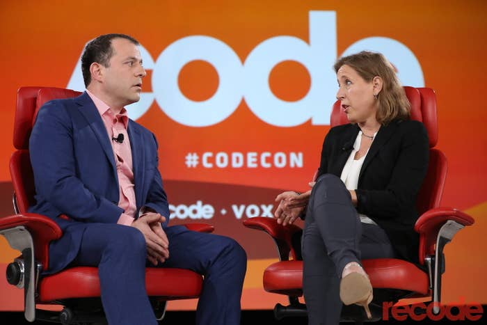 Susan Wojcicki is interviewed by Recode senior correspondent Peter Kafka.
