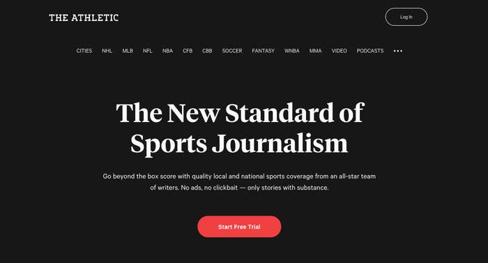 The Athletic Is Hiring Top Sportswriters From British Newspapers