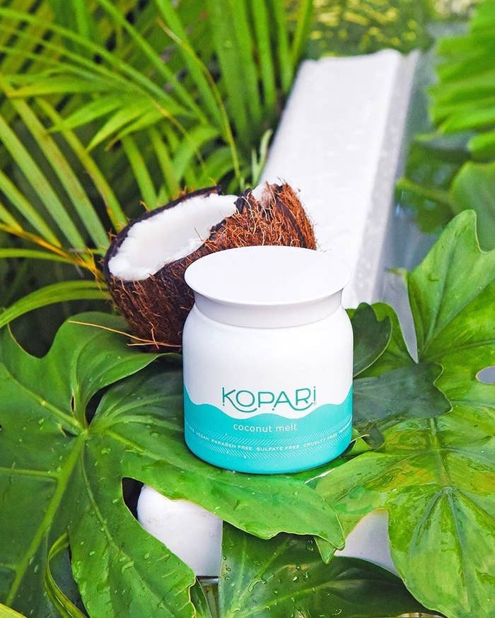 """This product is formulated without parabens, sulfates, or GMOs. It's also cruelty-free!Promising review: """"I use this literally everywhere on my body. Will consider trying out grocery store coconut oil and compare, but as of right now, I love this, my skin has cleared up, my hair is stronger, I feel moisturized without feeling oily. I love it."""" —KimberlyGet it from Ulta for $28 or Amazon for $34."""