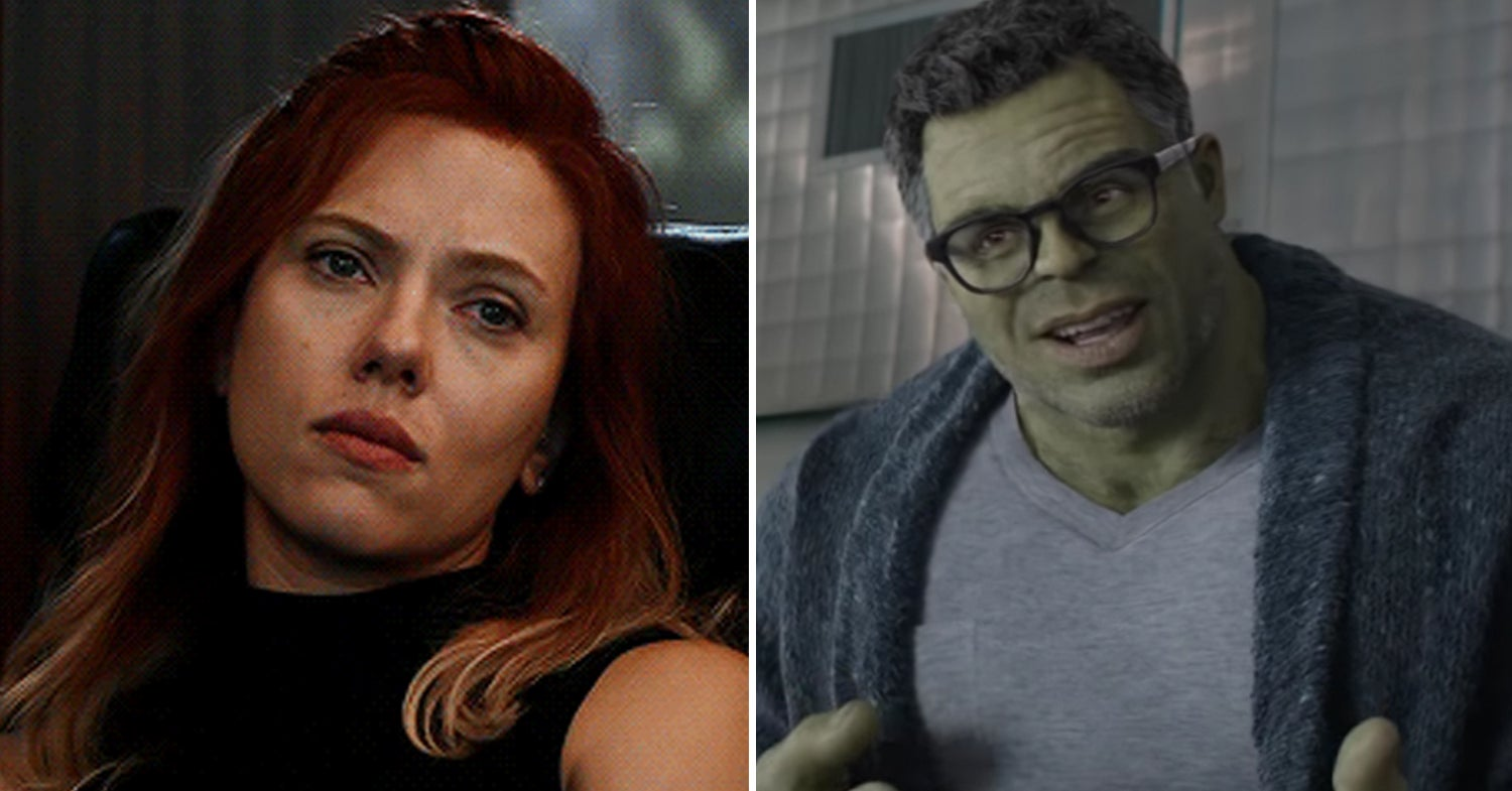 """Black Widow And The Hulk's Relationship Has Finally Been Addressed By An """"Avengers"""" Writer, And What The Heck"""
