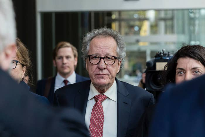 The Daily Telegraph Wants Audio Of The Geoffrey Rush Defamation Trial