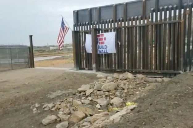 The GoFundMe Border Wall Blocked Access To A Monument. It's Been Ordered To Keep A Gate Open Indefinitely.