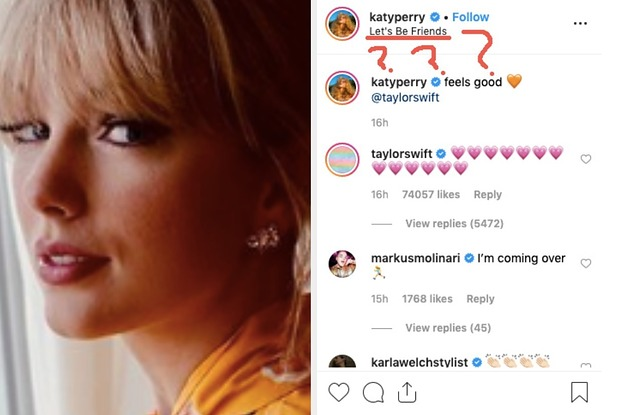 I Broke Down Everything You Didn't Notice In THAT Katy Perry-Taylor Swift Instagram
