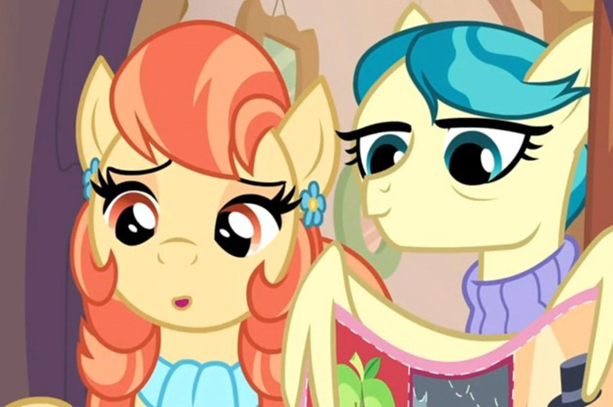 There S Going To Be A Same Sex Couple On My Little Pony So there parents must have been an earth pony and pegasus. my little pony