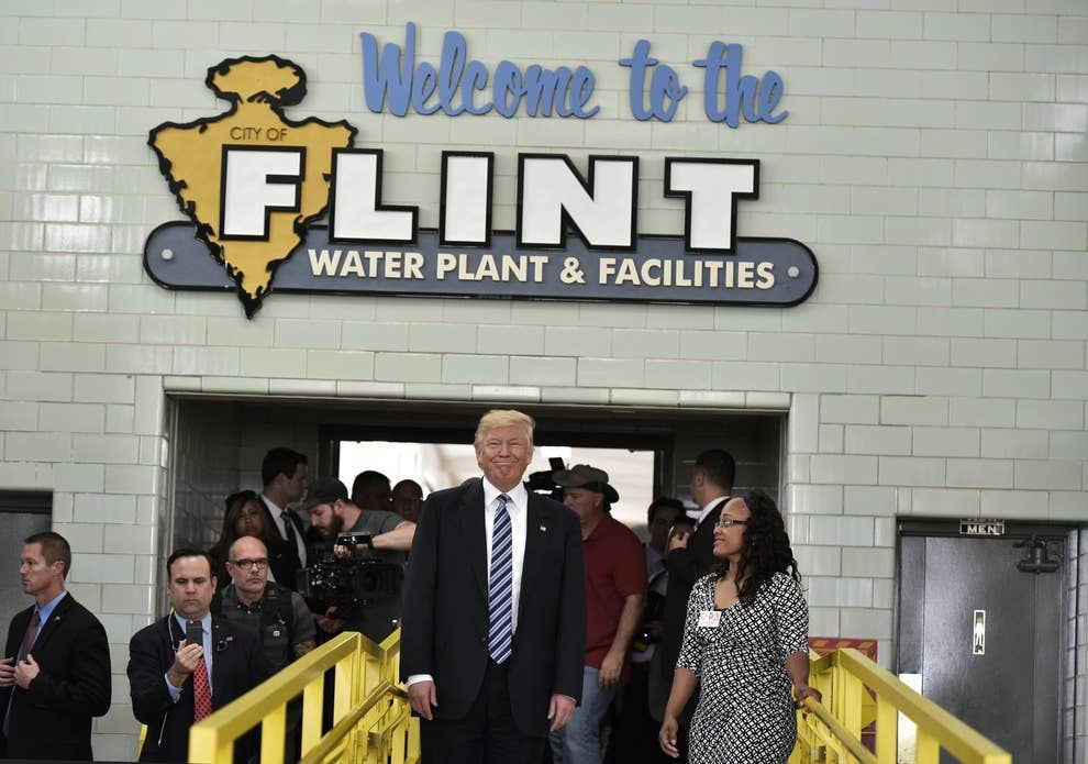 Flint Lead Poisoning And Promise Of >> People In Flint Are Still In Crisis They Want Presidential