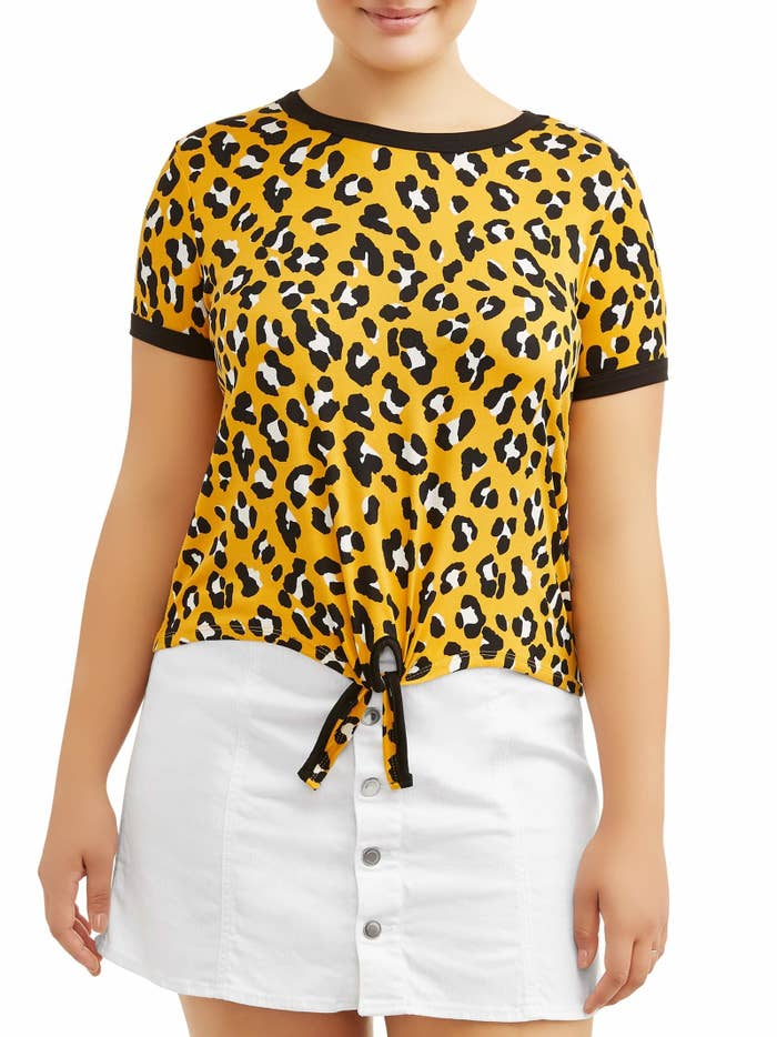 Price: $10.98 (available in sizes 1X-3X, find it in straight sizes here)