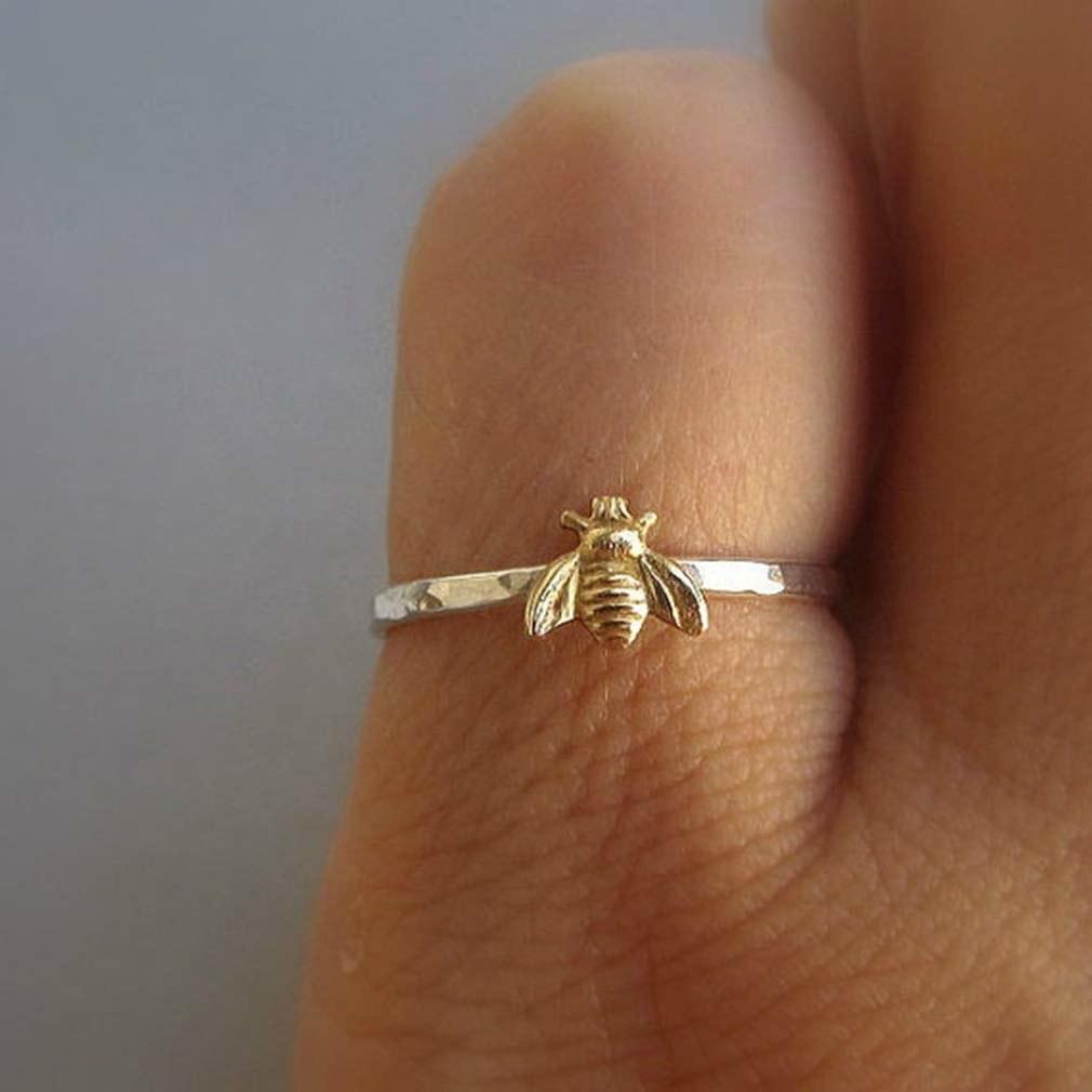 tiny bee ring