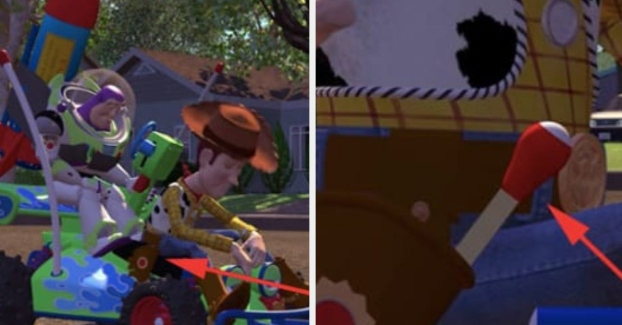"""17 Tiny Mistakes In """"Toy Story"""" That The Producers Probably Hoped You'd Miss"""