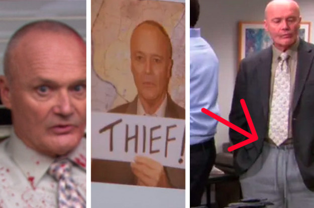 """16 Tiny Little """"The Office"""" Details That Will Make You Love Creed Even More"""