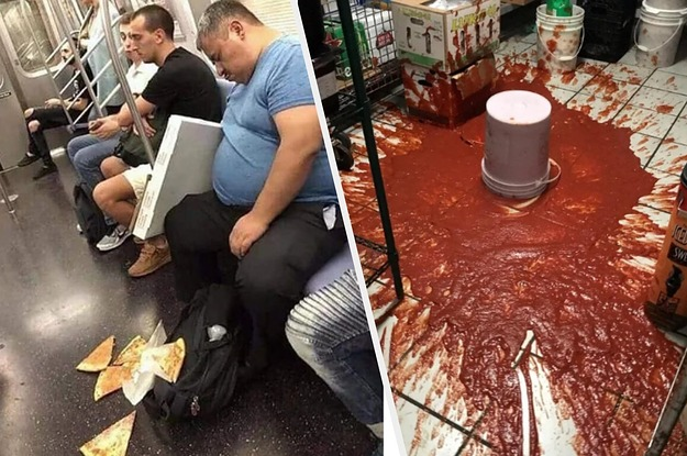 17 People Who Suffered Pizza Traumas They ...