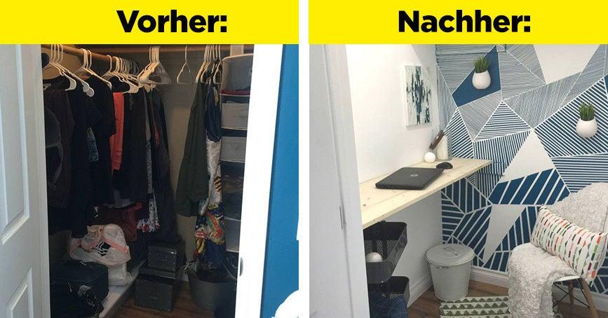 13 erstaunliche Verwandlungen, die dich dazu bringen, endlich dein Zimmer aufzuräumen