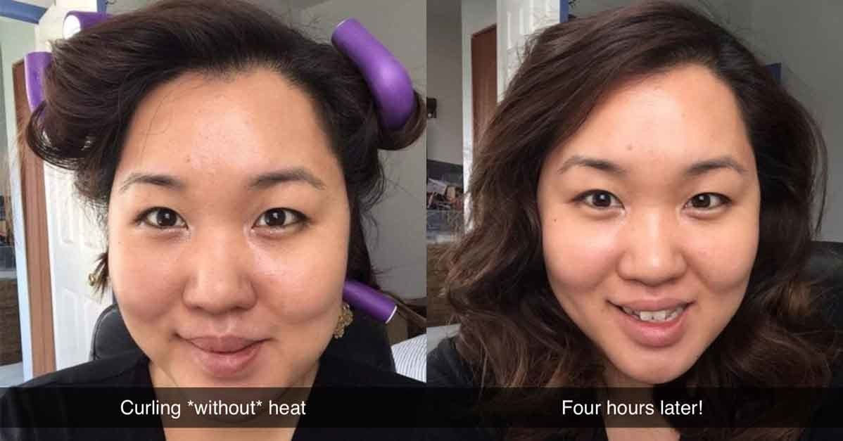 If Your Hair Is Damaged, You Need These $8 Twist Rods To Curl Your Hair