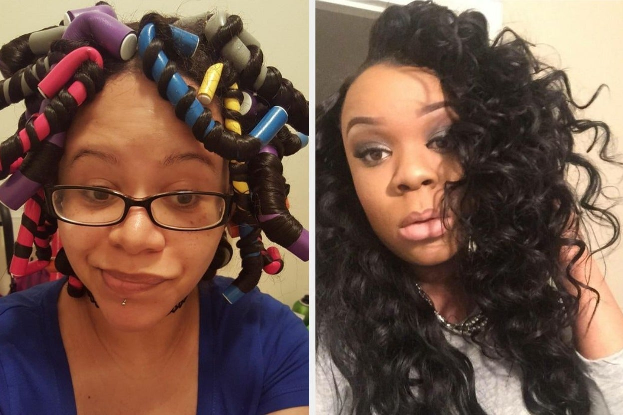 Hundreds Of People Use These $8 Twist Rods To Get Perfect Heat-Free Curls