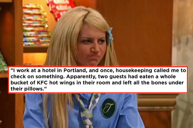 Hotel Employees Shared The Wildest Things ...