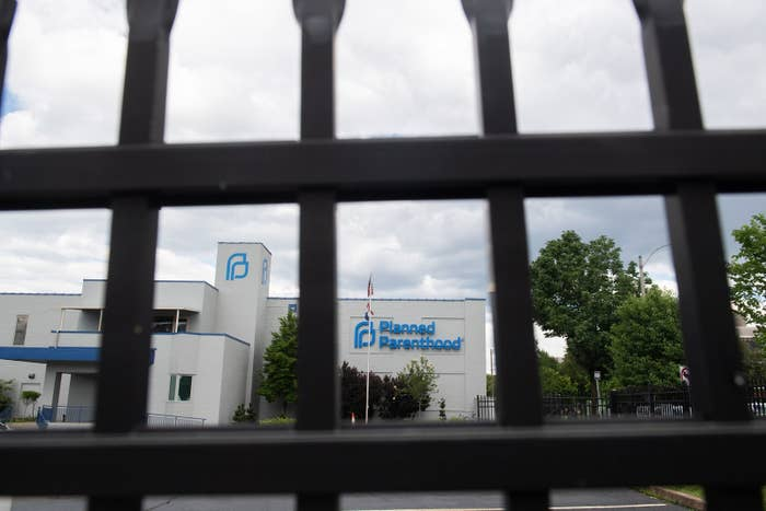 A Planned Parenthood Reproductive Health Services Center in St. Louis, Missouri — the last location in the state performing abortions.