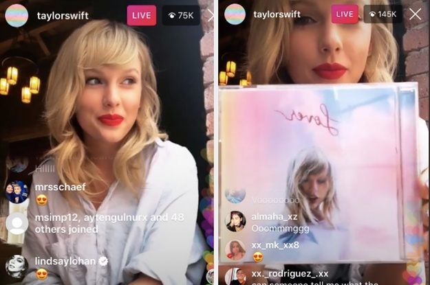 Taylor Swift Revealed That Her Next Album Is Titled Lover And The Cover Art Is Perfect