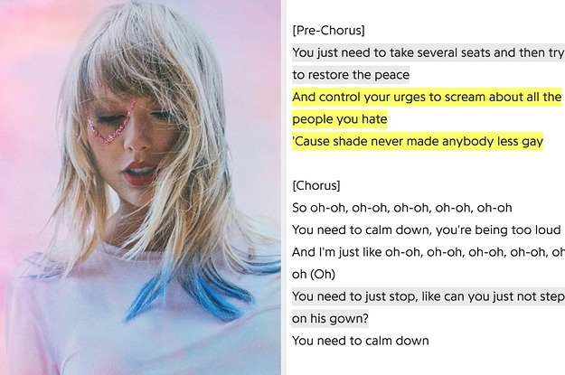 Taylor Swift's New Single Calls Out Anti-Gay Sentiment And Sexism And Fans Are Seriously Obsessed