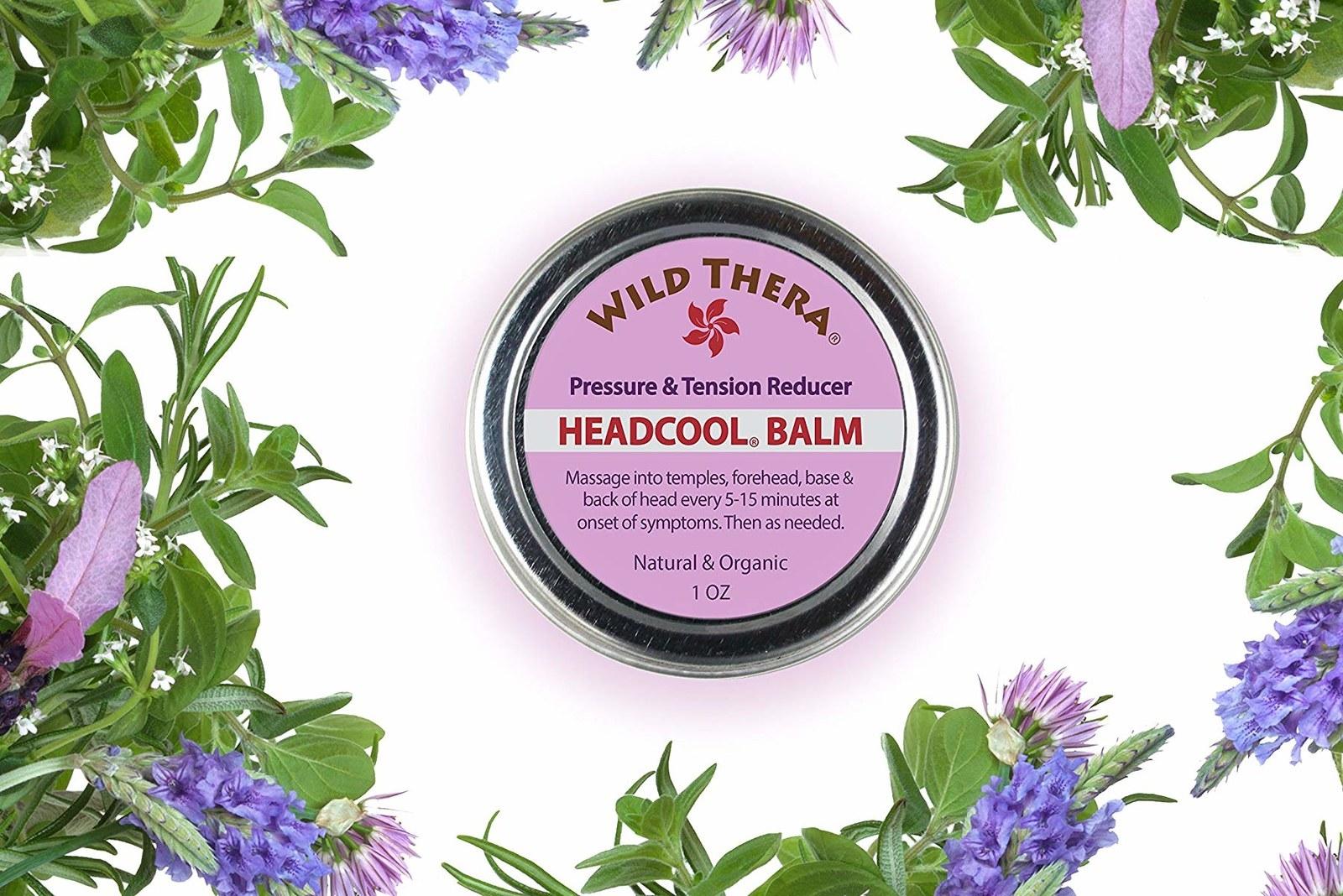 The headache relief balm