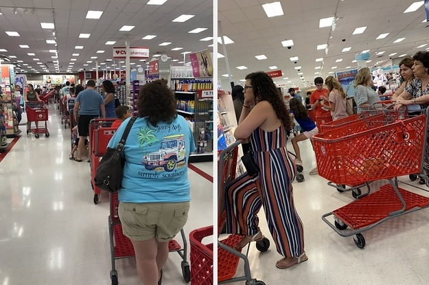 Target Registers Crashed At Stores Across The Country, Leading To Huge Lines