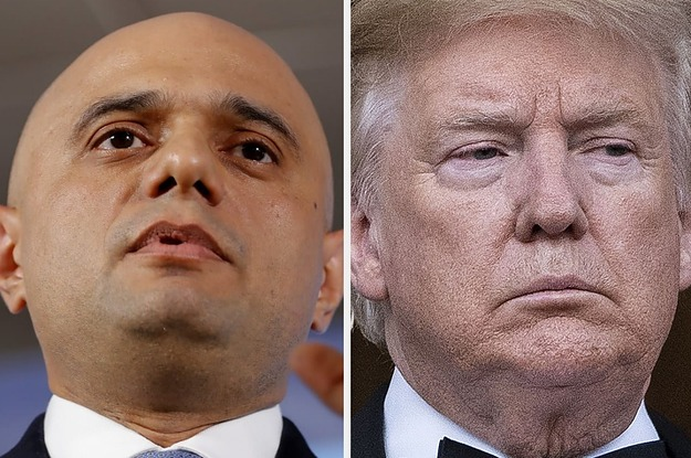Sajid Javid Has Told Trump To Stop