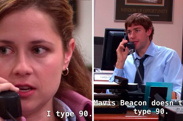 Take This Test To See If You Can Type As Fast As Pam ...
