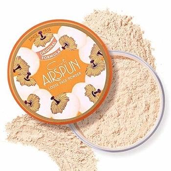 The jar of powder