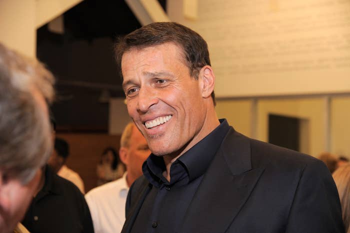 "Tony Robbins Punishes Followers By Making Them Drink Unidentified Brown Liquid ""Designed To Have A Lasting Effect"""