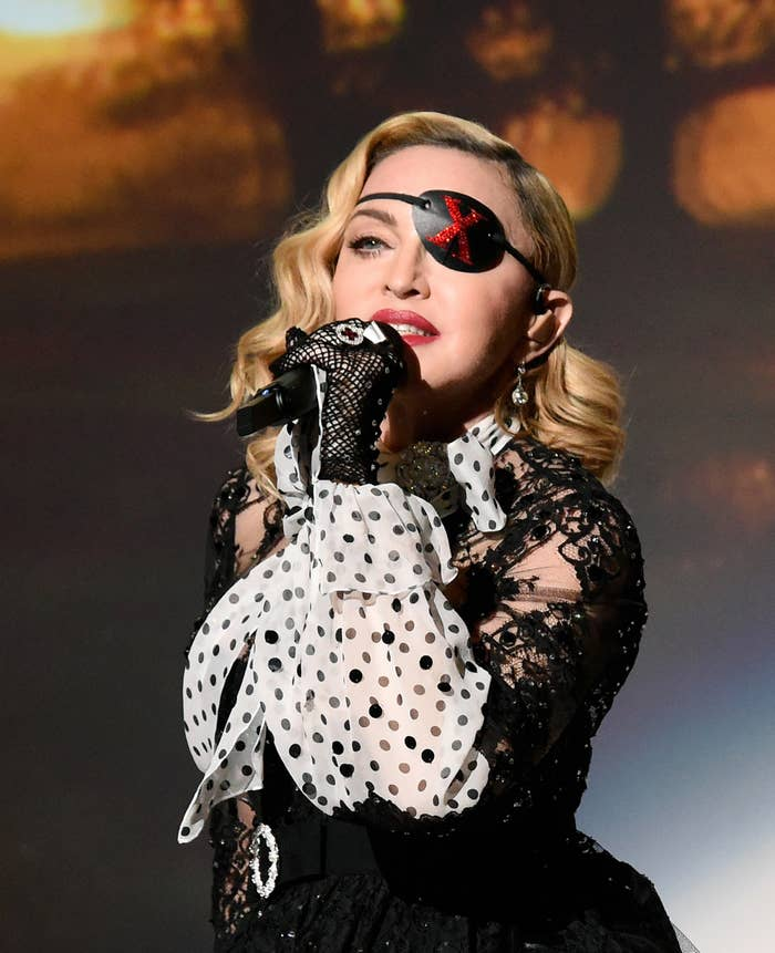Madonna Is A 60-Year-Old Pop Icon. Why Doesn't She Want To Talk About It?
