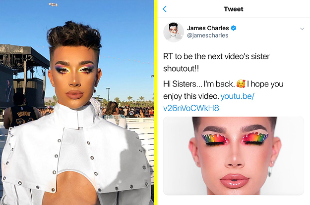 James Charles Just Uploaded His First Video Since The Tati Westbrook Drama — Here's What He Said