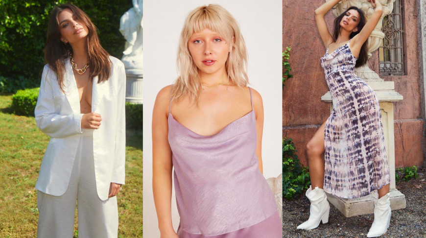 The New Nasty Gal X Emily Ratajkowski Collection Is So Good (And 50% Off!)
