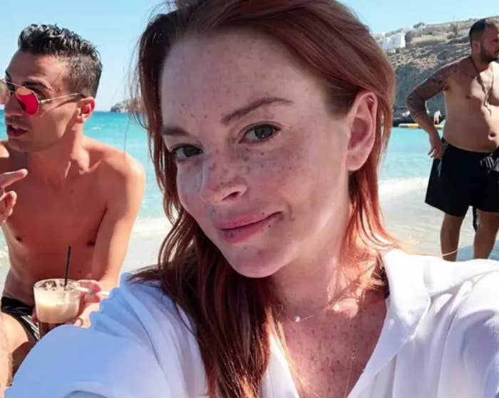 Lindsay Lohan Might Have Abandoned Her Mykonos Club And ...