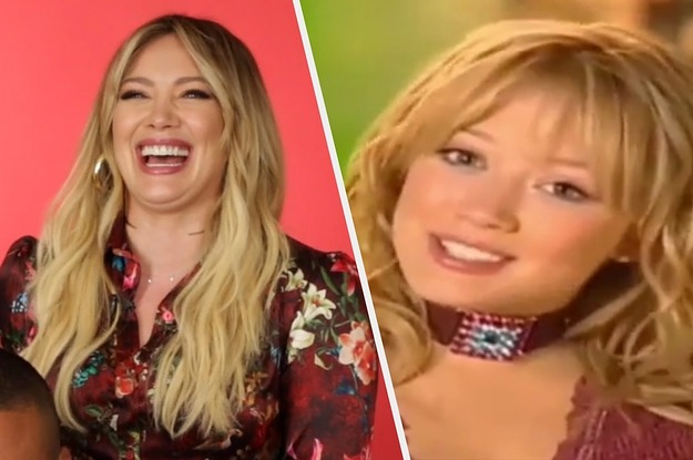 Hilary Duff Reenacted That Viral