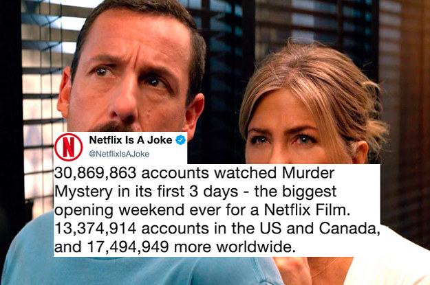 "Netflix Said 30 Million People Viewed ""Murder Mystery,"" So I Watched And Here's How It Is"