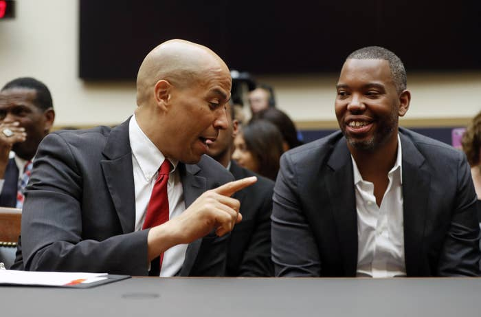Ta-Nehisi Coates And Cory Booker Push Congress To Consider Reparations For Slavery