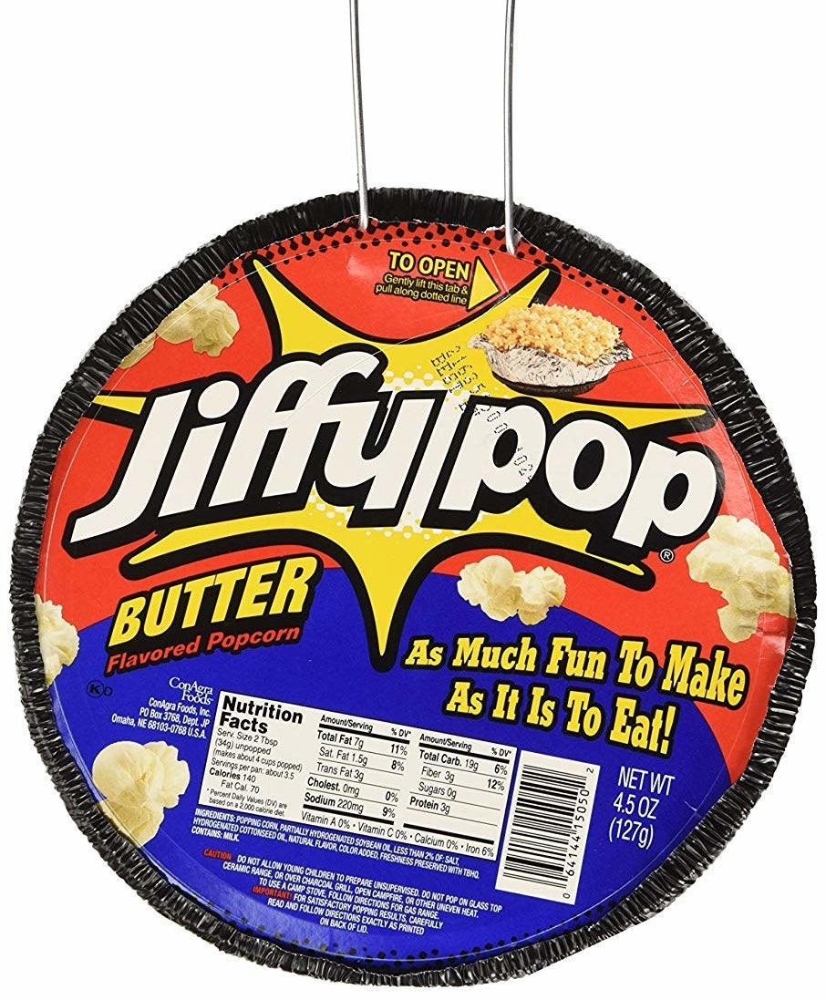 butter-flavored jiffy pop