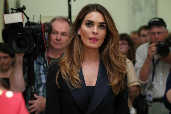 Hope Hicks Refused To Talk About Her Time At The White House During A Judiciary Committee Hearing