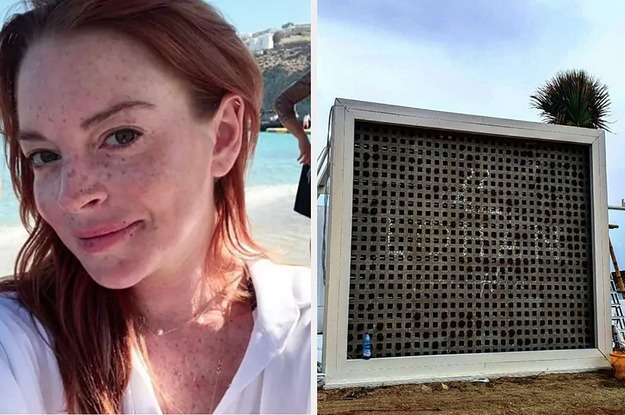 Lindsay Lohan Might Have Abandoned Her Mykonos Club And Here Are The Pictures That Prove It
