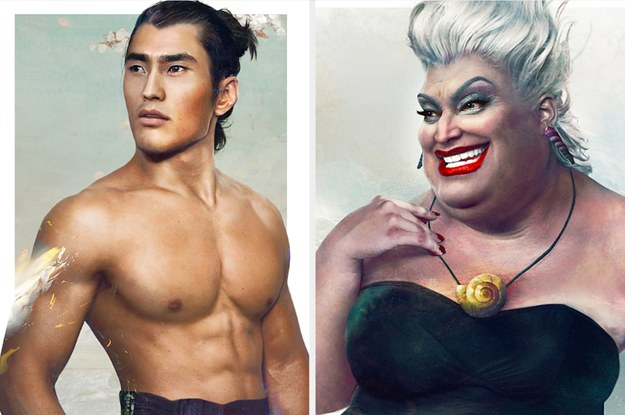 These Are The IRL Versions Of 56 Iconic Disney Characters