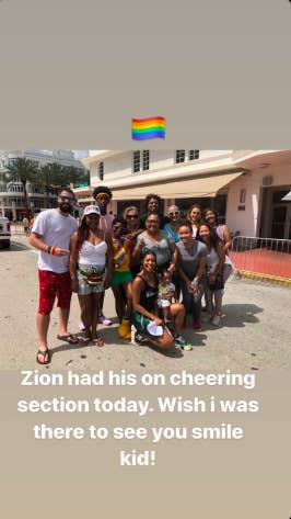 Dwyane Wade Responds To The Pride Parade Hate He Faced After