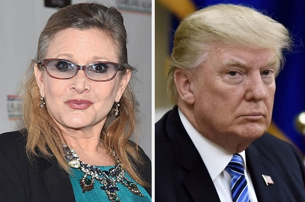 People Want Carrie Fisher To Replace Donald Trump On The Hollywood Walk Of Fame