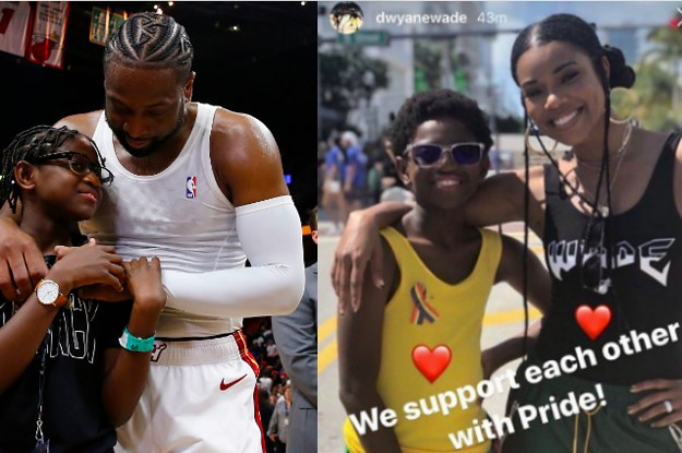 Dwyane Wade Says Its His Job As A Father To Support Son After Receiving Pride Parade Hate