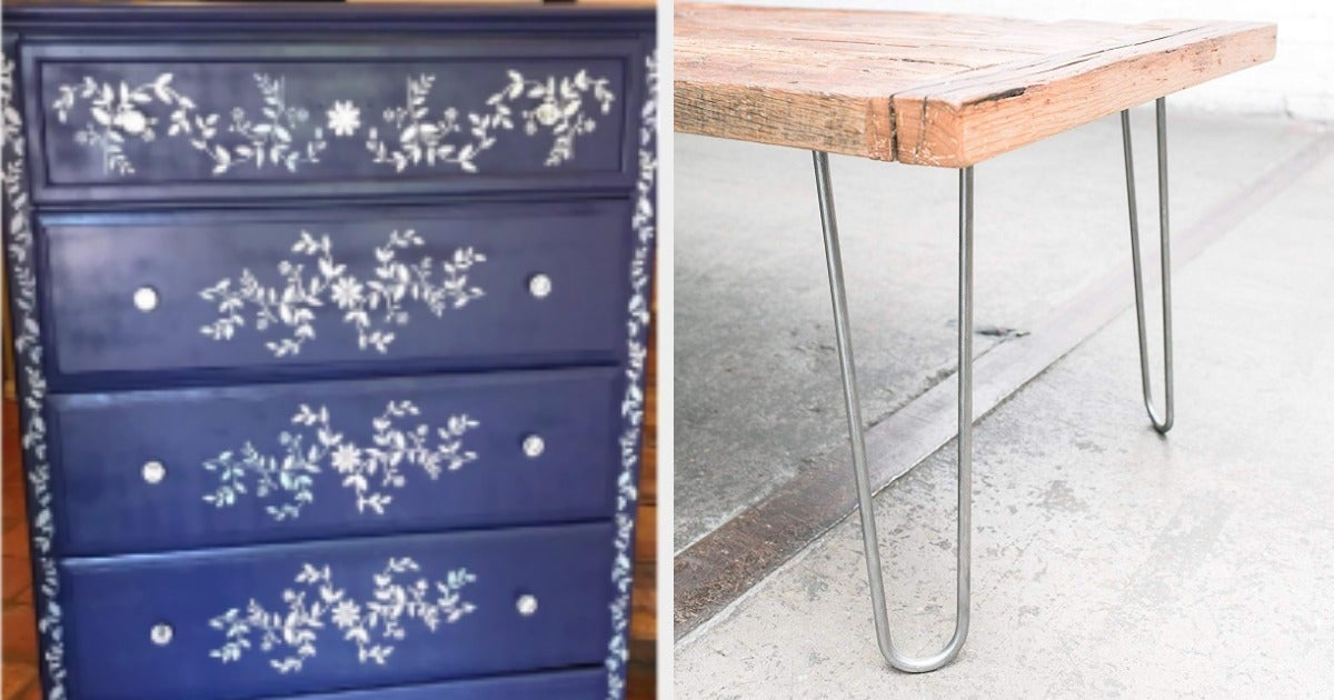 20 Ways To Make Old Furniture Look Fancy