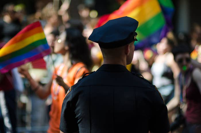 Most LGBTQ Americans Actually Love Having Cops And Corporations In Pride Parades