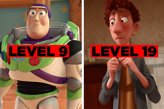 I Bet You Can't Make It Past Level 30 On This Never-Ending Pixar Quiz